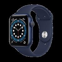 Apple Watch Edition Series 6_Mavi Alüminyum Kasa ve Spor Kordon