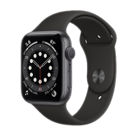 Apple Watch Edition Series 6_Uzay Grisi Alüminyum Kasa ve Spor Kordon