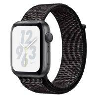 Apple Watch Series 4 Nike+_Siyah Nike Spor Loop