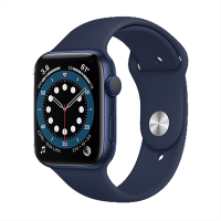 Apple Watch Series 6_Mavi Alüminyum Kasa ve Spor Kordon