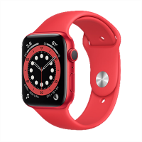 Apple Watch Series 6_(PRODUCT)RED Alüminyum Kasa ve Spor Kordon