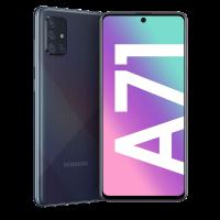 Samsung Galaxy A71_Prism Crush Black