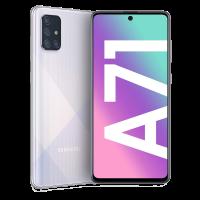 Samsung Galaxy A71_Prism Crush Silver